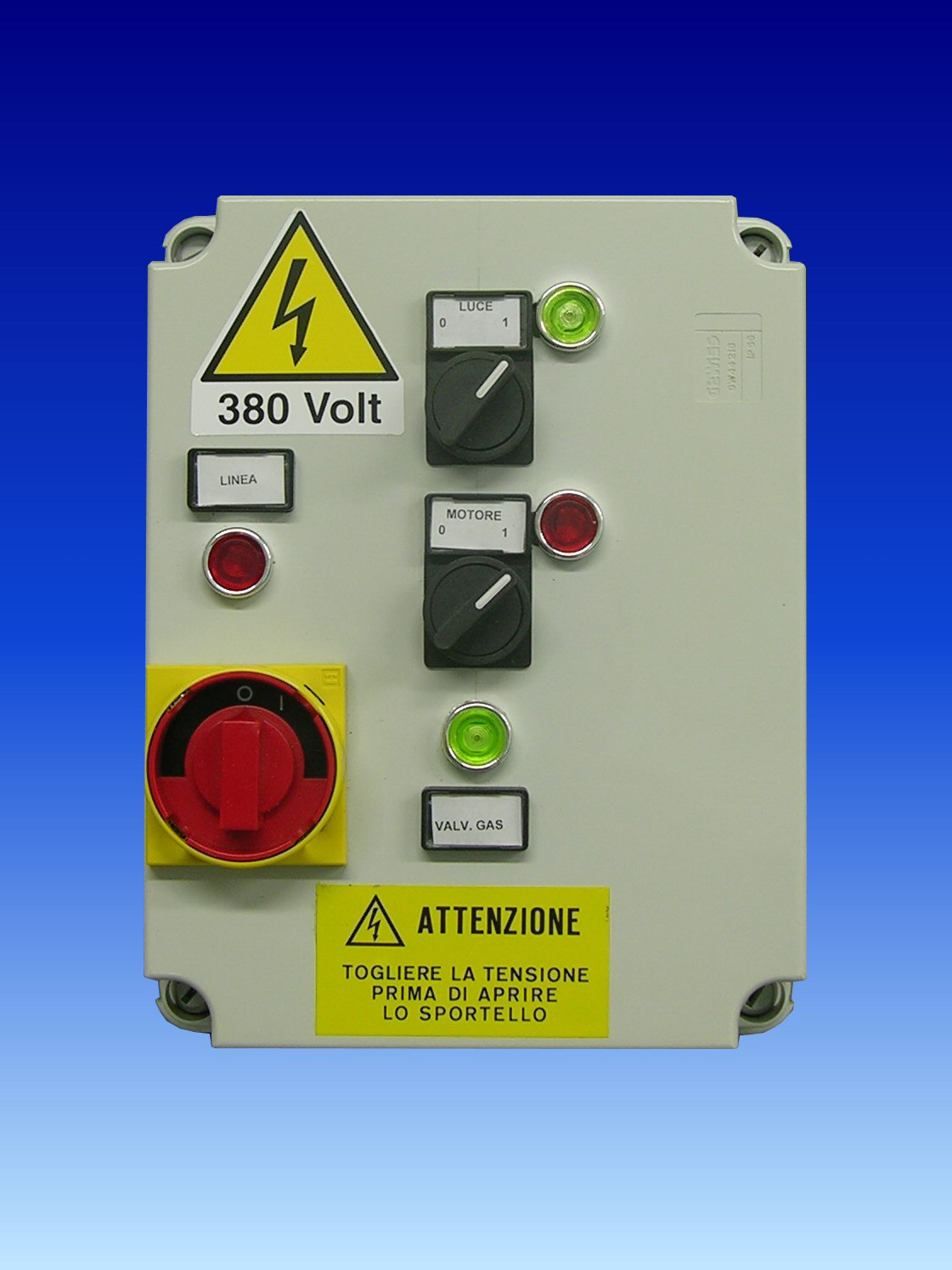 gas remote control with Quadro Trifase 1 Motore 1 Velocita E Interruttore on Industrial  munications furthermore Humidity And Air Quality Sensors together with J And K Thermocouples likewise 1250 Kw Cummins Diesel Generator Non Epa besides fmctechnologies.